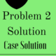 Problem 2 Solution Case Solution