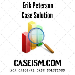 erik peterson essay Miscellaneous essays: case study analysis: erik peterson at rescheduling of a  new product launch from the vice president of planning and control for william j.