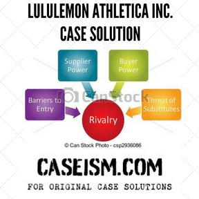Lululemon Athletica Inc. case solution