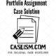 portfolio assignment case solution