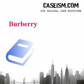 Burberry Case Solution