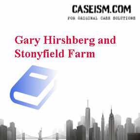 stonyfield case study