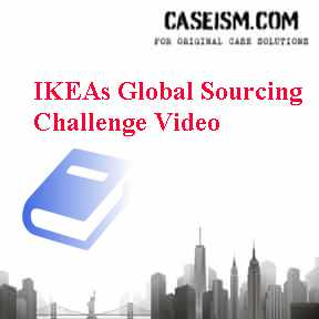 ikeas global sourcing challenge indian rugs This case is about ikea's global sourcing challenge: indian rugs and child labor (a) get your ikea's global sourcing.