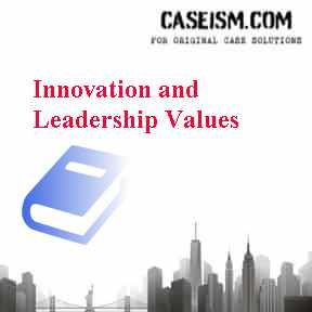 Innovation and Leadership Values Case Solution