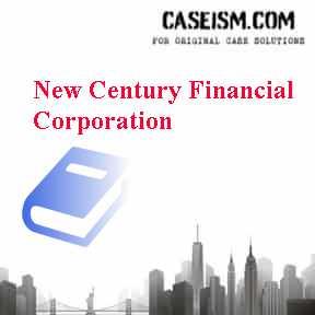 new century financial corporation case study
