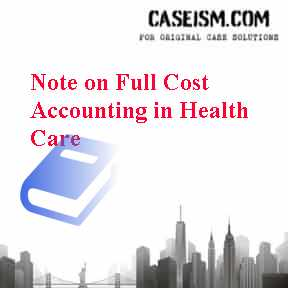 health care cost accounting Essentials of cost accounting for health care organizations third edition steven a finkler, phd, cpa program in health.
