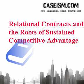 """case study resource based view of competitive Use resource based view & analyze mcdonald essay  the """"resource based view"""" of competitive advantage in this study  into consideration in this case first ."""