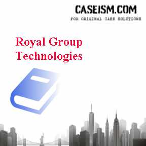 Royal Group Technologies Case Solution