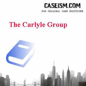 The Carlyle Group Case Solution