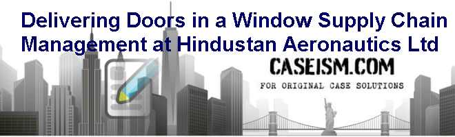 delivering doors in a window supply chain management at hindustan aeronautics ltd Delivering doors in a window – supply chain management at hindustan aeronautics limited online mode of delivery a windows pc with a minimum of quad-core.