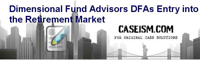 dimensional fund advisors case study solution