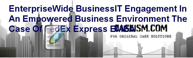 airborne express havard business case solution
