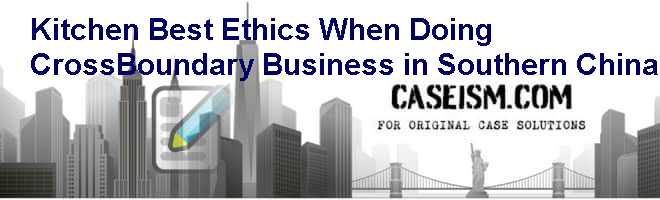 case study on business ethics with solutions pdf