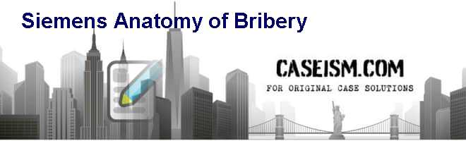 siemens case study bribery
