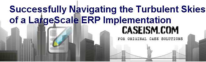 successfully navigating the turbulent skies of a large scale erp implementation analysis Successfully navigating the turbulent skies of a large-scale erp  skies of a  large-scale erp implementation case analysis, successfully navigating the.