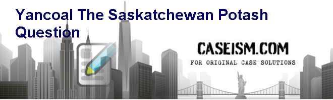 Yancoal: The Saskatchewan Potash Question